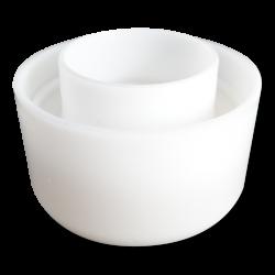 Форма для твердого сыра 1 кг - 12 отверстий